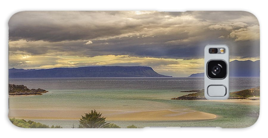 Scotland Galaxy S8 Case featuring the photograph Isles Of Eigg And Rum by Jason Politte