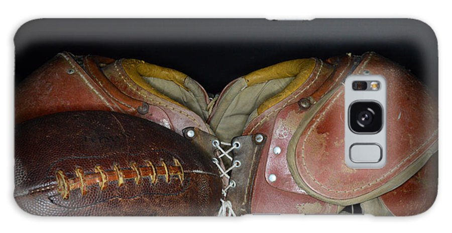 Paul Ward Galaxy S8 Case featuring the photograph Its All About Football by Paul Ward