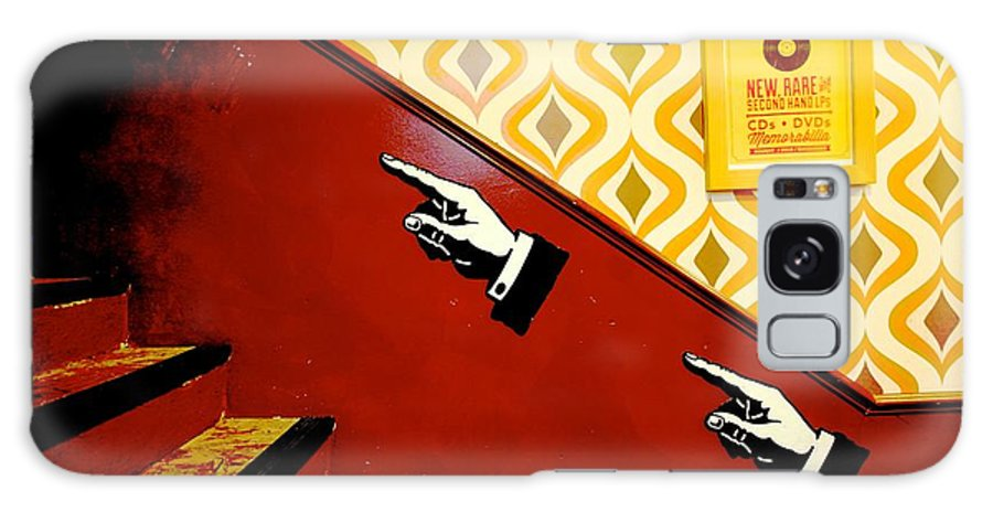 Vintage Galaxy S8 Case featuring the photograph The 70s Finger Knows by Dwight Pinkley