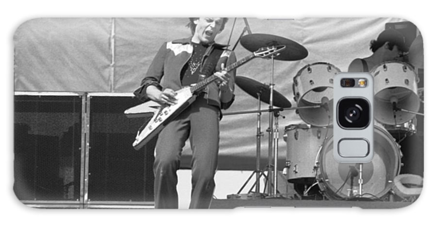 J. Geils Galaxy S8 Case featuring the photograph J. Geils At Day On The Green 1976 by Ben Upham