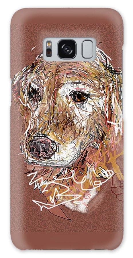 Dog Galaxy S8 Case featuring the digital art Jake Boy by Joyce Goldin