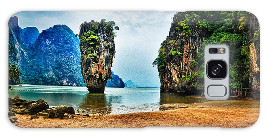 James Galaxy S8 Case featuring the photograph James Bond Island by Syed Aqueel