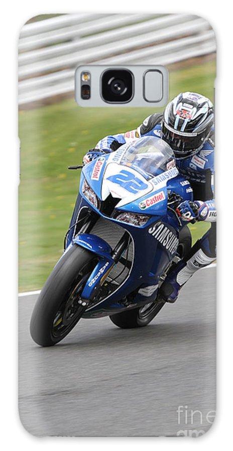 Motorbikes Galaxy S8 Case featuring the photograph Jason O Halloran by Richard Norton Church