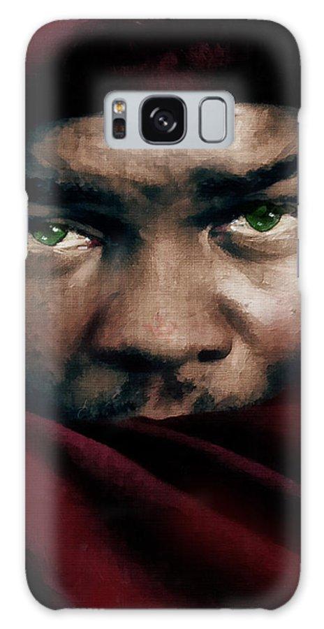 Othello Galaxy S8 Case featuring the painting Jealous Othello by Georgiana Romanovna