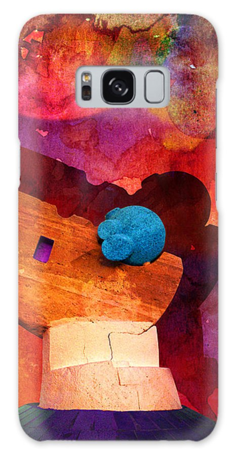 Galaxy S8 Case featuring the painting Jeddah 03 by Catf