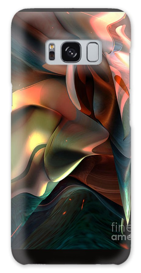 Painter Galaxy Case featuring the painting Jerome Bosch Atmosphere by Christian Simonian