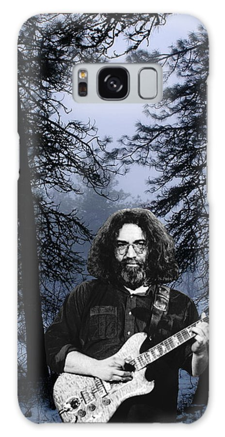 Jerry Garcia Galaxy S8 Case featuring the photograph Jerry Cold Rain And Snow by Ben Upham