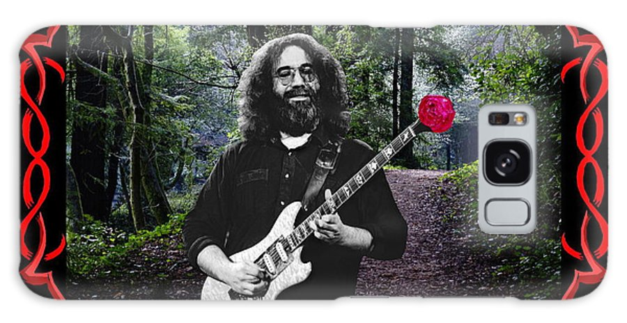 Jerry Garcia Galaxy S8 Case featuring the photograph Jerry Road Rose 3 by Ben Upham