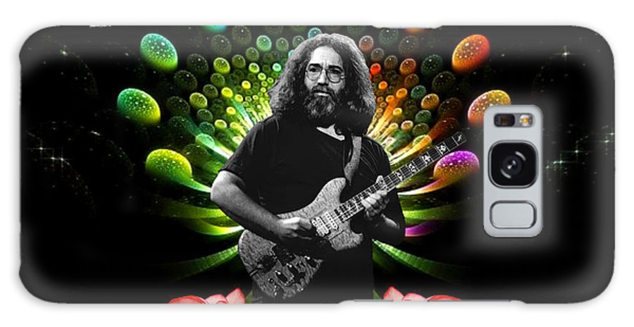 Jerry Garcia Galaxy S8 Case featuring the photograph Jerry Spacepods Ufo Roses 1 by Ben Upham