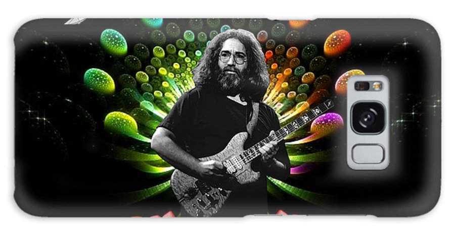 Jerry Garcia Galaxy S8 Case featuring the photograph Jerry Spacepods Ufo Roses Under Cosmic Sun by Ben Upham