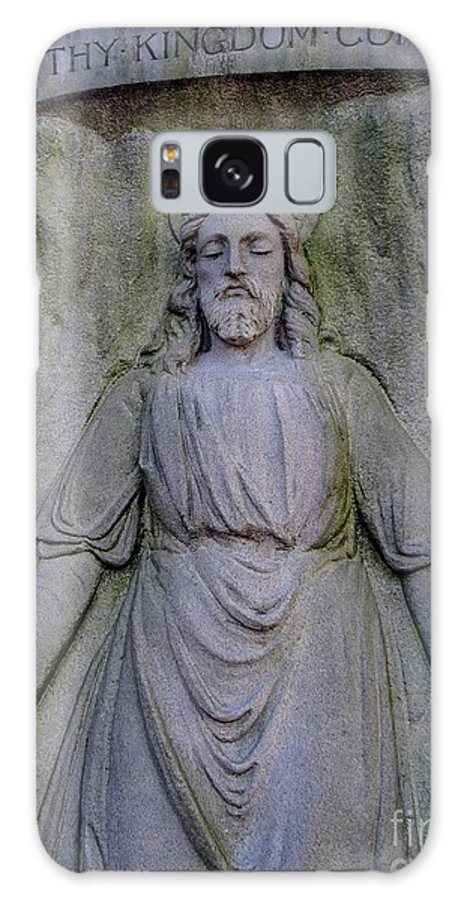 Jesus Galaxy S8 Case featuring the photograph Jesus In Repose by Ed Weidman