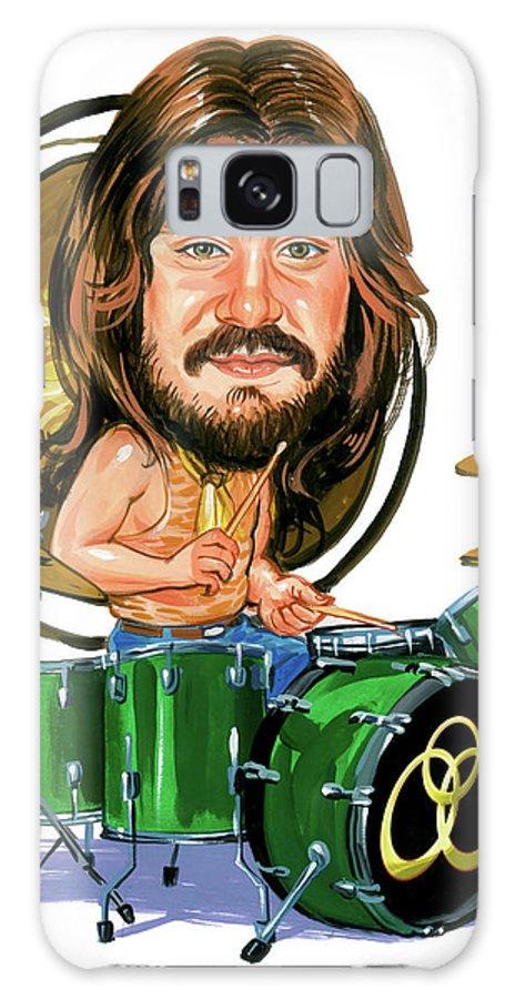 John Bonham Galaxy Case featuring the painting John Bonham by Art