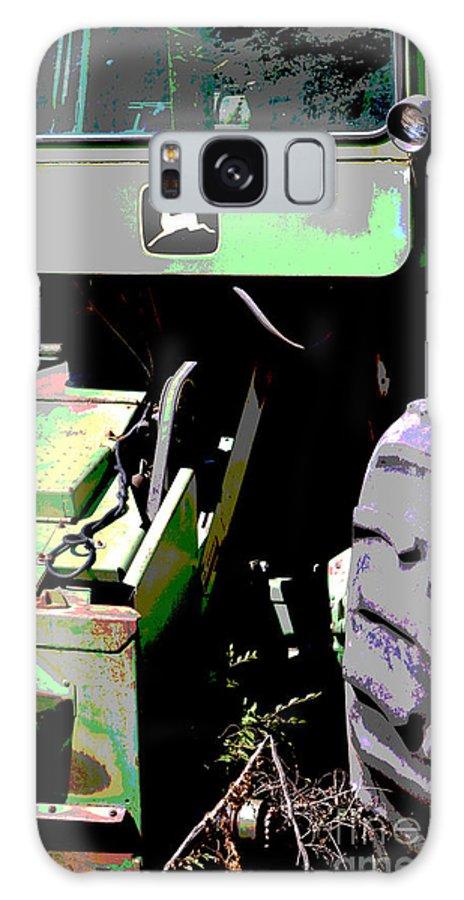John Deere Galaxy S8 Case featuring the photograph John Deere Green by Renie Rutten
