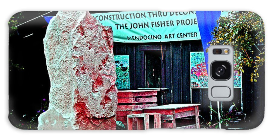 Mendocino Art Center Galaxy S8 Case featuring the photograph John Fisher Project by Joseph Coulombe