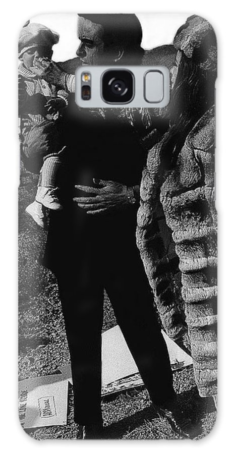 Johnny Cash Flesh And Blood Music Homage Cash Family Old Tucson Az Galaxy S8 Case featuring the photograph Johnny Cash Flesh And Blood Music Homage Cash Family Old Tucson Az by David Lee Guss