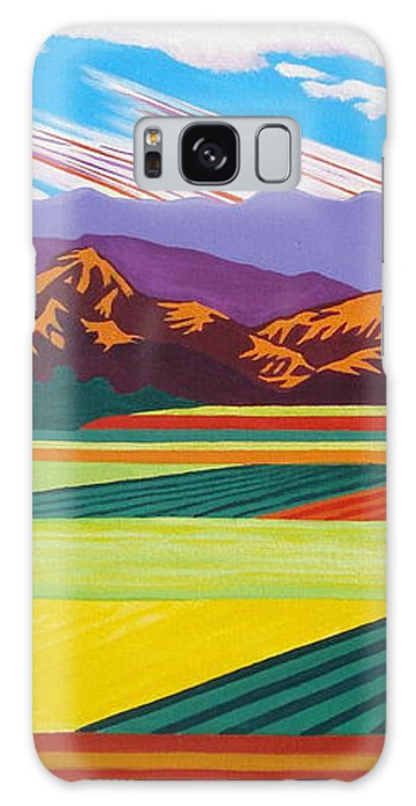 Galaxy S8 Case featuring the painting Joseph Over Mandalay Bay by Illona Battaglia Aguayo