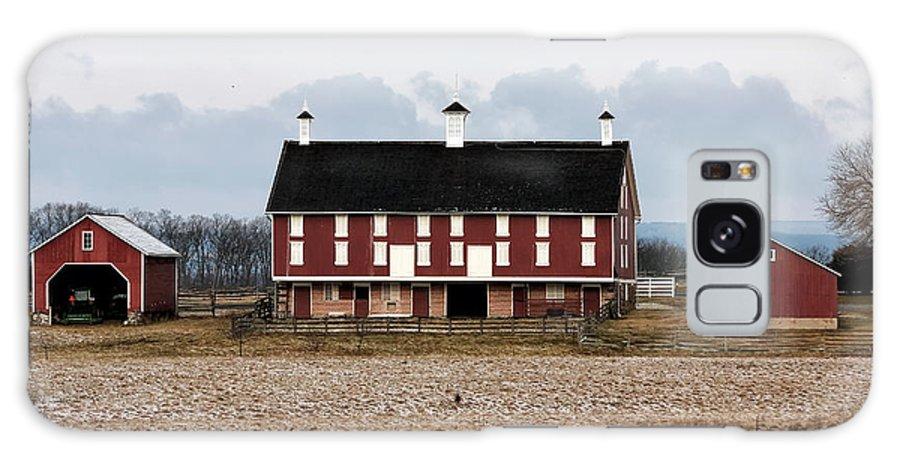 Joseph Spangler Farm Galaxy S8 Case featuring the photograph Joseph Spangler Farm by John Rizzuto