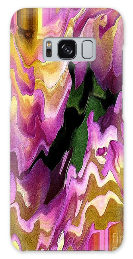 Mccombie Galaxy S8 Case featuring the painting Jowey Gipsy Abstract by J McCombie
