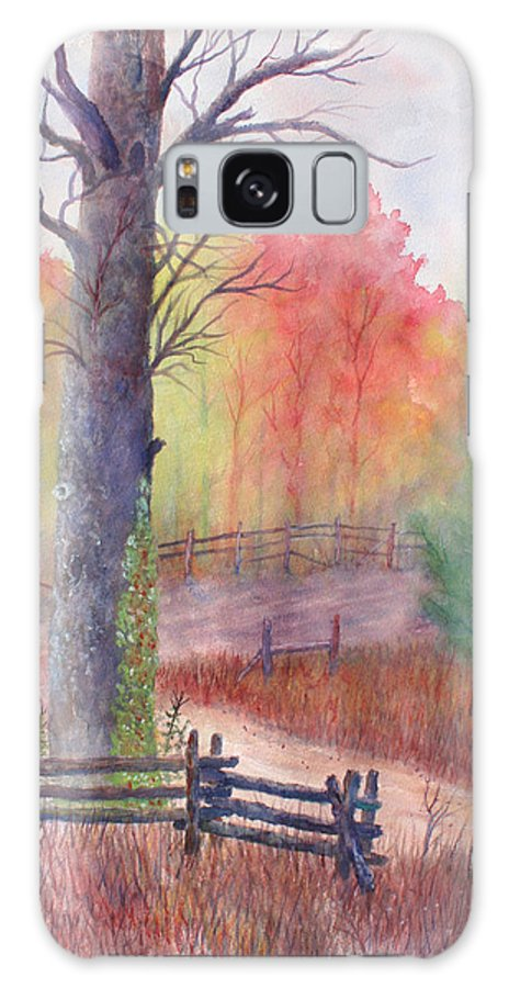 Fall Galaxy Case featuring the painting Joy of Fall by Ben Kiger