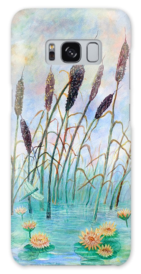 Pond Galaxy Case featuring the painting Joy Of Summer by Ben Kiger