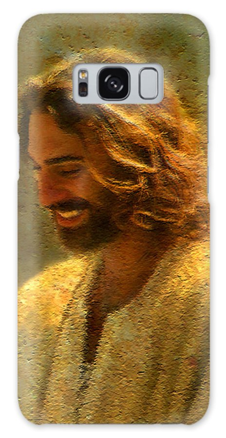Jesus Galaxy S8 Case featuring the painting Joy of the Lord by Greg Olsen