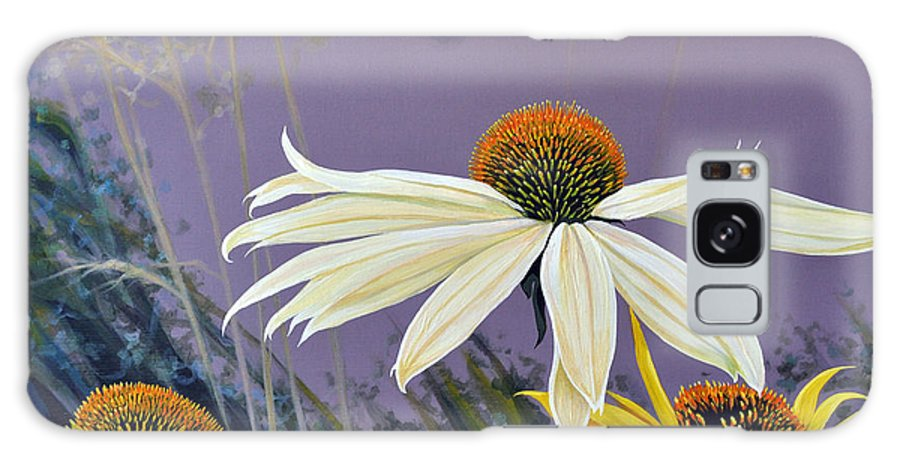 Botanical Galaxy Case featuring the painting Jubilant by Hunter Jay