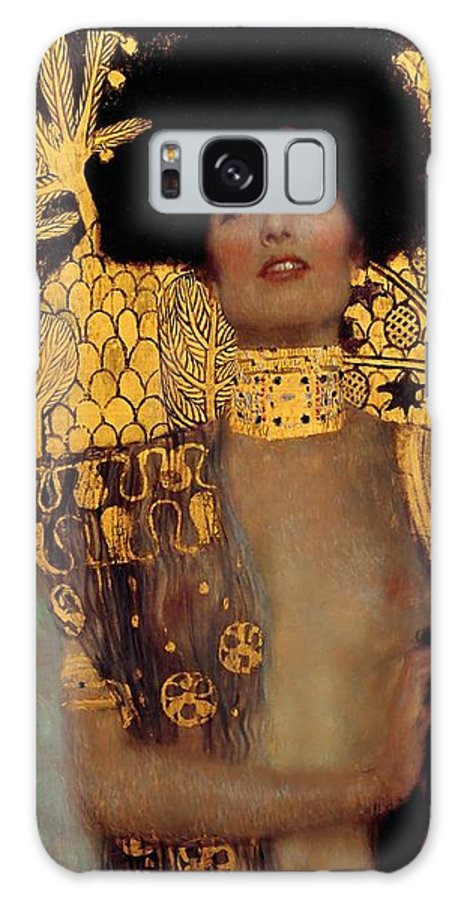 Gustav Klimt Galaxy Case featuring the painting Judith And The Head Of Holofernes by Gustav Klimt