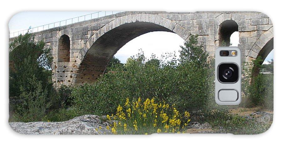 Roman Stonebridge Galaxy S8 Case featuring the photograph Julian Bridge Provence by Christiane Schulze Art And Photography