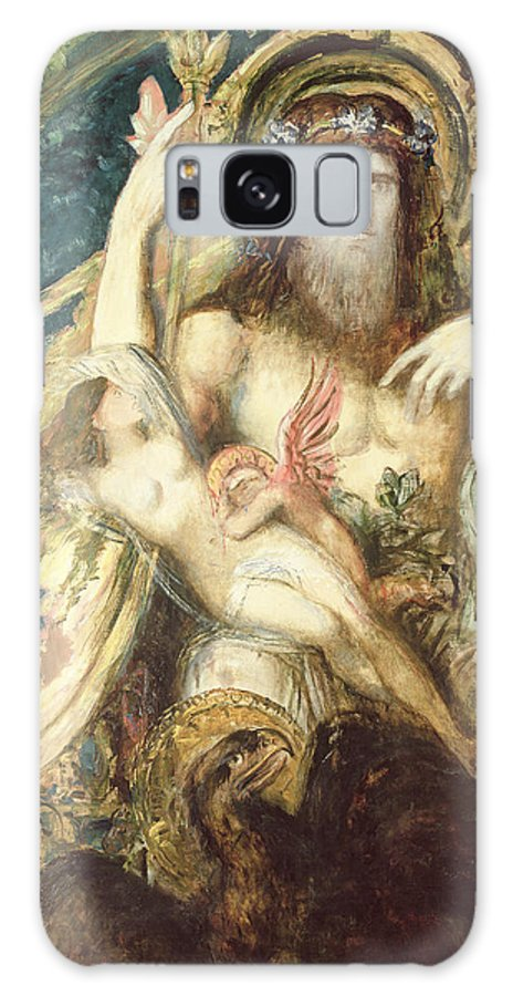 Moreau Galaxy S8 Case featuring the painting Jupiter And Semele by Gustave Moreau