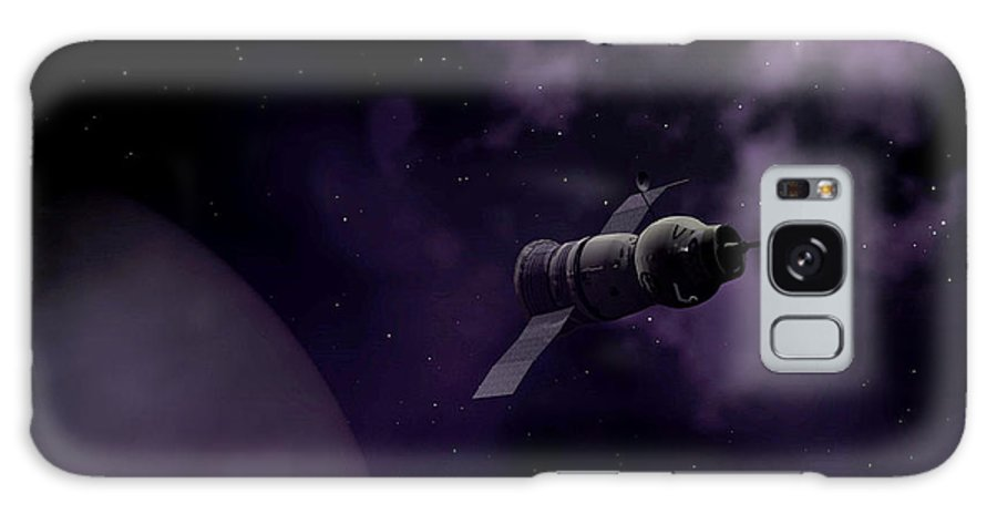 Space Galaxy S8 Case featuring the digital art Jupitor One Exploration by Richard Rizzo