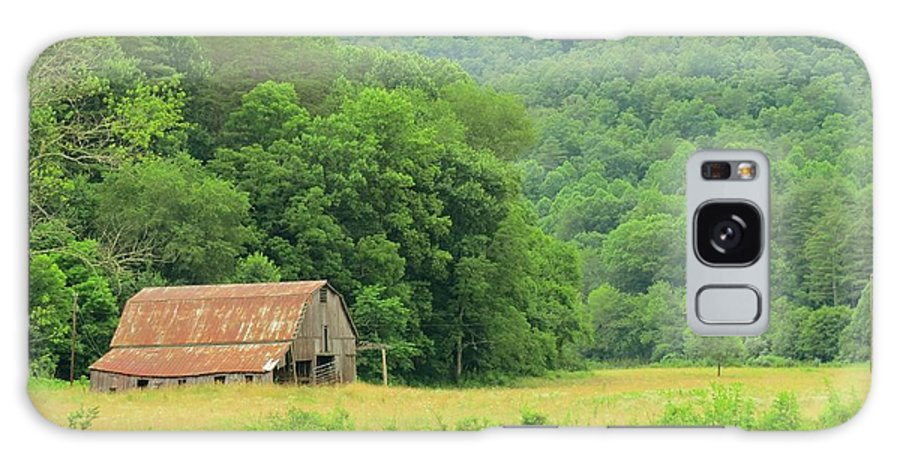 Barn Galaxy S8 Case featuring the photograph Just Before Sunset, Blue Ridge Mountains by Sandra Reeves