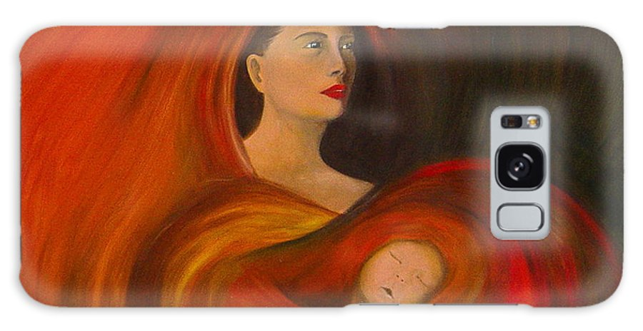 Verve Galaxy Case featuring the painting ..just Love.. by Fanny Diaz