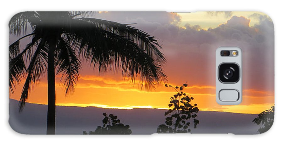 Maui Galaxy S8 Case featuring the photograph Kaanapali Sunset by Happy Toad