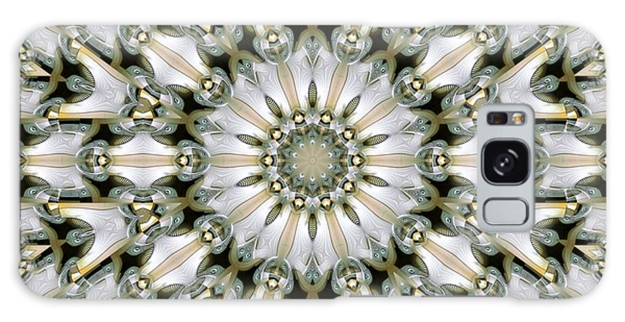 Kaleidoscope Galaxy S8 Case featuring the digital art Kaleidoscope 28 by Ron Bissett