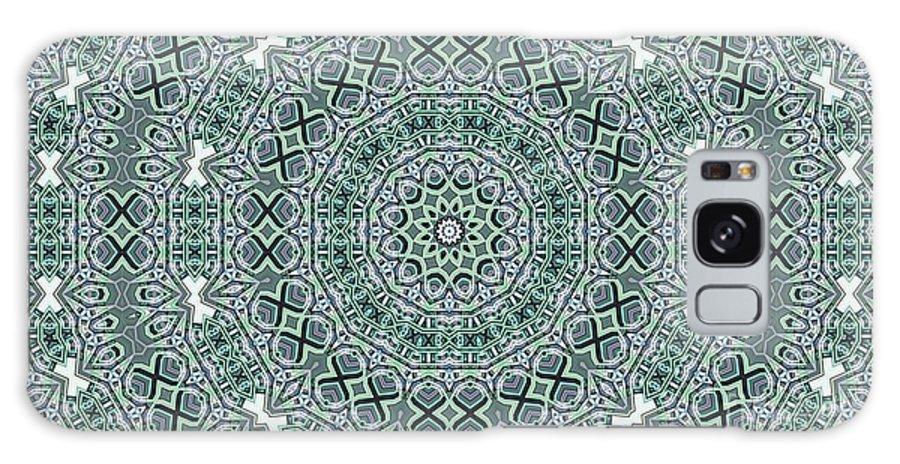 Kaleidoscope Galaxy S8 Case featuring the digital art Kaleidoscope 31 by Ron Bissett