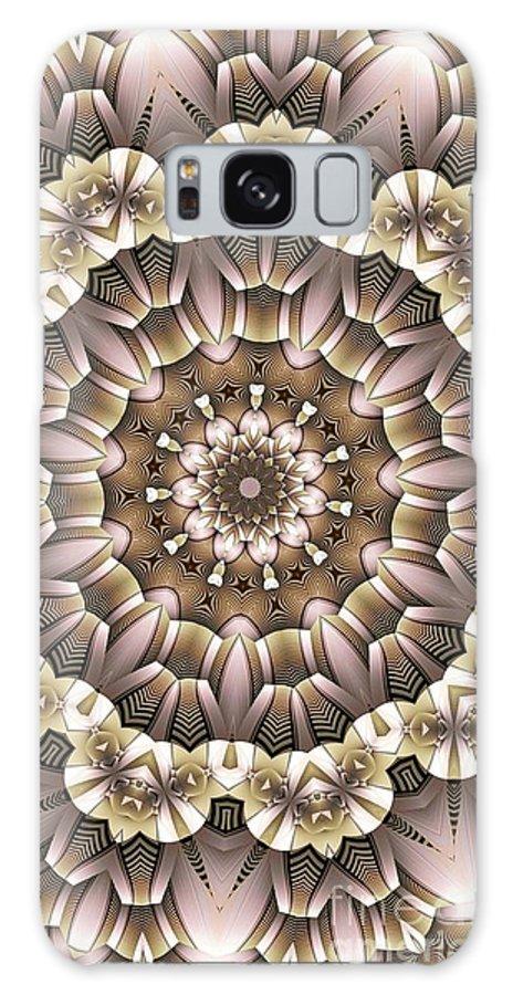 Kaleidoscope Galaxy S8 Case featuring the digital art Kaleidoscope 65 by Ron Bissett