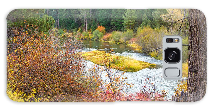 Autumn Galaxy S8 Case featuring the photograph Sprague River Oregon by Tirza Roring