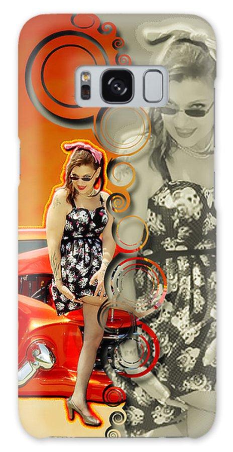 Kandi Blaze Galaxy S8 Case featuring the photograph Kandi Blaze Poster 4 by Brian Graybill