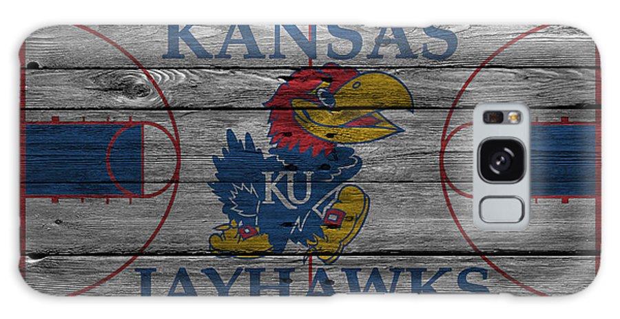 Jayhawks Galaxy Case featuring the photograph Kansas Jayhawks by Joe Hamilton