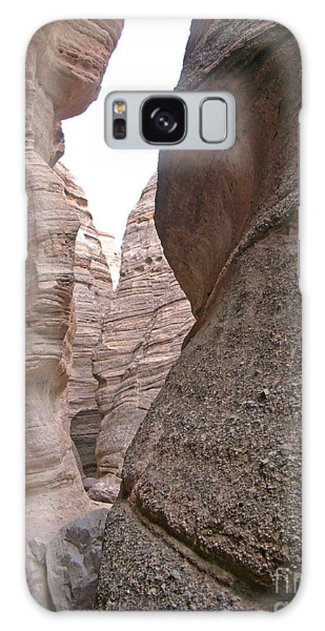 Tent Rocks Galaxy S8 Case featuring the photograph Kasha Katuwe Tent Rock Canyon 2 by Birgit Seeger-Brooks