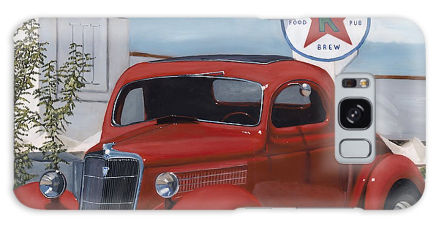 1935 Ford Galaxy S8 Case featuring the painting Kellys by Jack Atkins