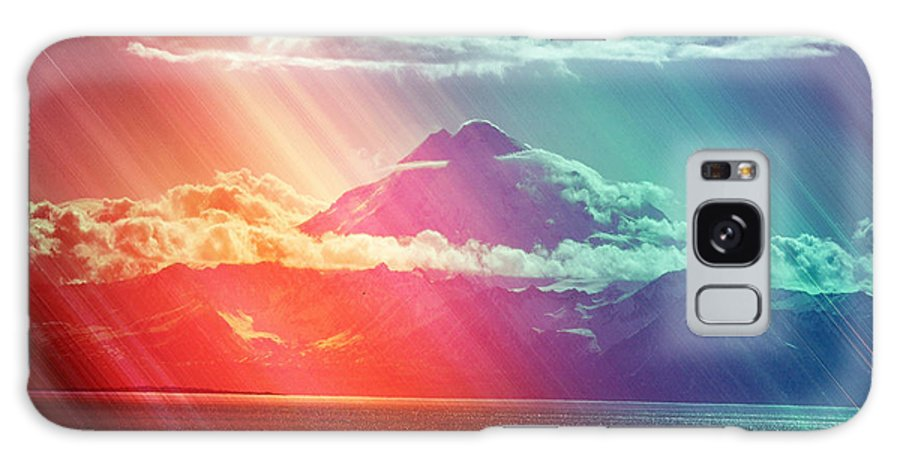 Mount Redoubt Galaxy S8 Case featuring the photograph Kenai Alaska Mount Redoubt by Debra Miller