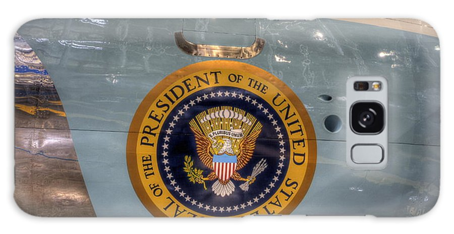 Air Force One Galaxy S8 Case featuring the photograph Kennedy Air Force One by David Dufresne