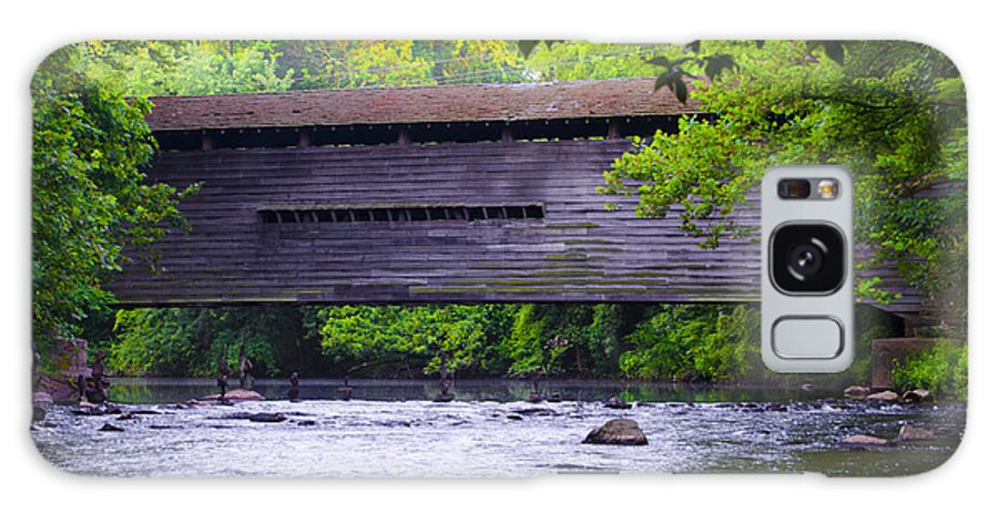 Kennedy Galaxy S8 Case featuring the photograph Kennedy Covered Bridge - Kimberton Pa. by Bill Cannon
