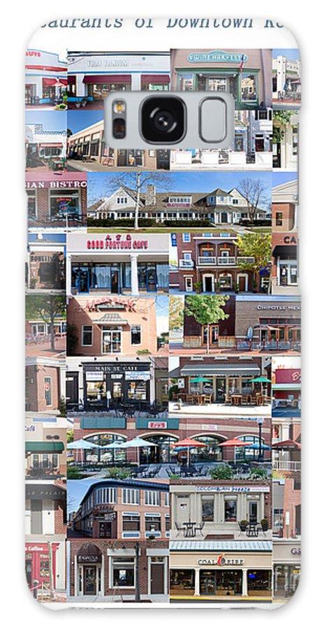 Restaurant Galaxy S8 Case featuring the photograph Kentlands Restaurants 2011 by Thomas Marchessault
