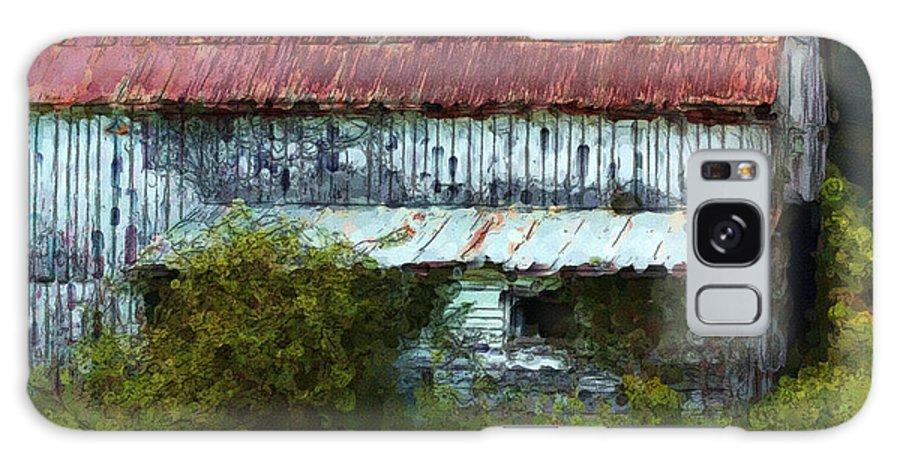 Barn Galaxy S8 Case featuring the digital art Kentucky Barn In Summer by George Ferrell