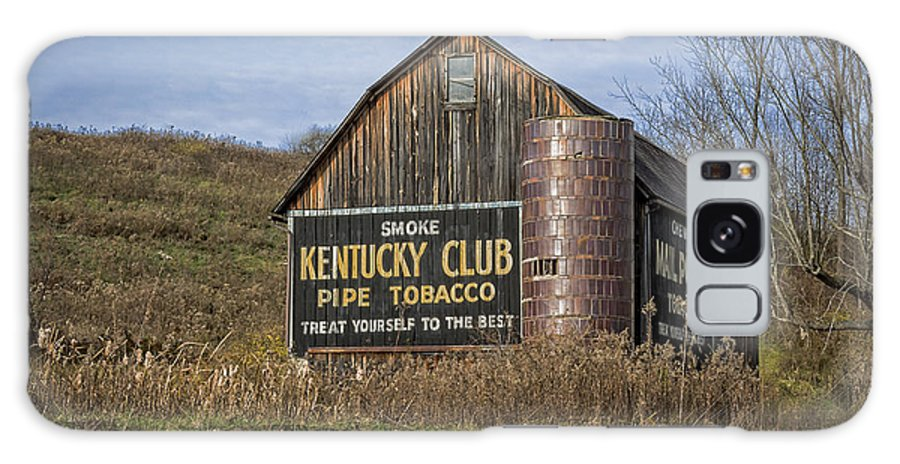 Aged Galaxy S8 Case featuring the photograph Kentucky Club Barn by Jack R Perry