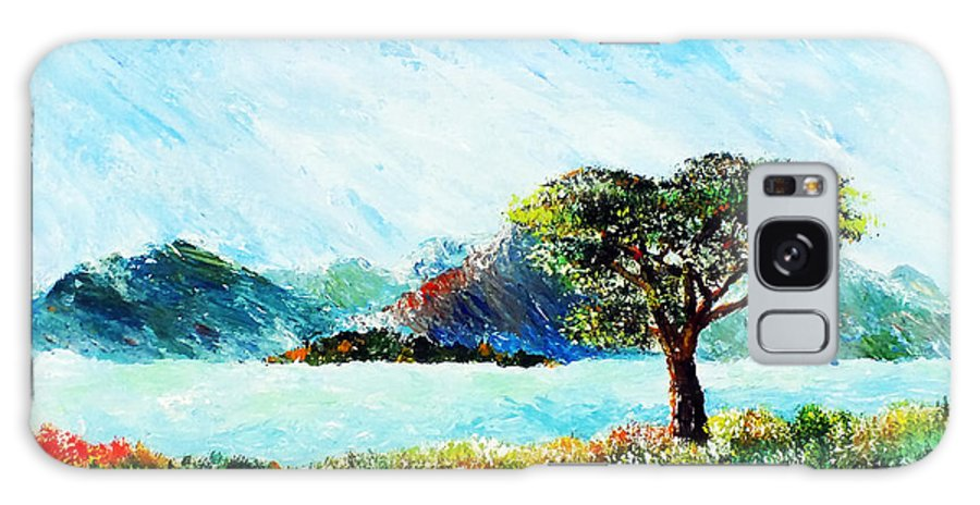 Landscape Paintings Galaxy S8 Case featuring the painting Killarney I by Elisabeth Vania