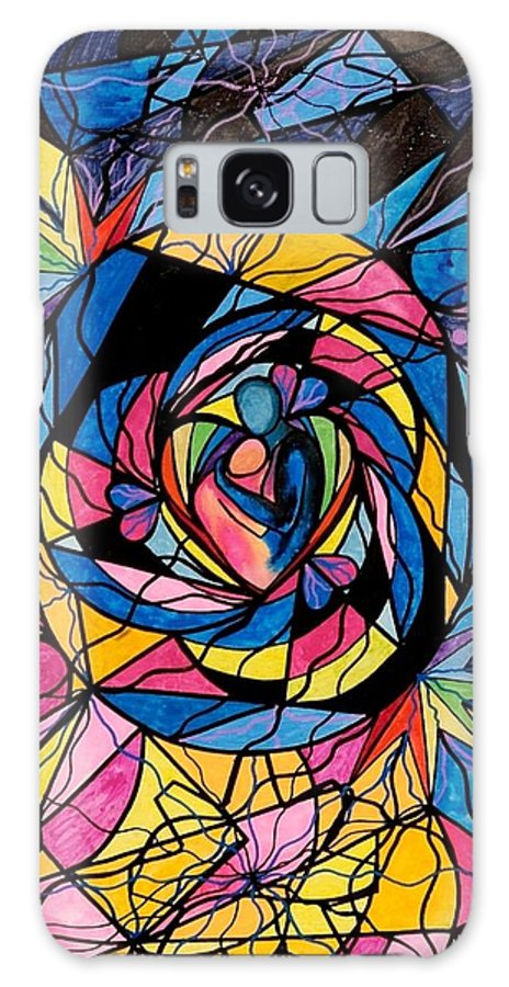 Kindred Soul Galaxy S8 Case featuring the painting Kindred Soul by Teal Eye Print Store