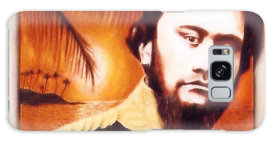 Hawaiian Royalty.kamehameha Iv Galaxy S8 Case featuring the painting King Liholiho Keawenui by Alan Fine